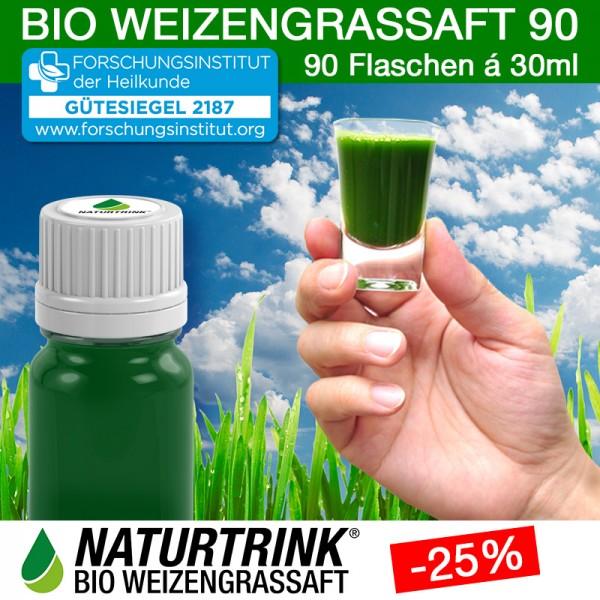 BIO Weizengrassaft 90 - NATURTRINK