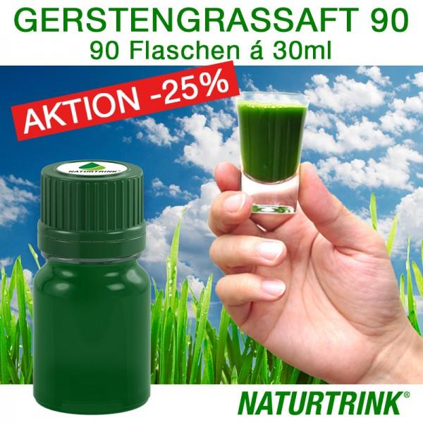 BIO Gerstengrassaft 90 - NATURTRINK