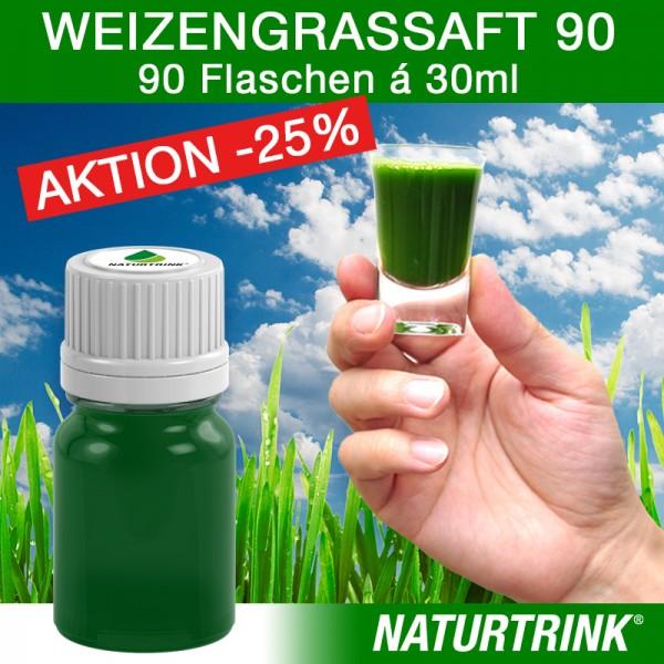 Weizengrassaft 90 - NATURTRINK