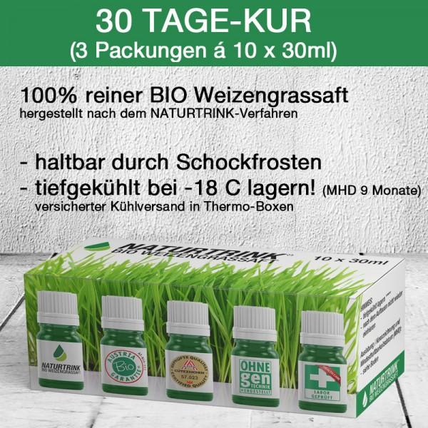 30 Tage-Kur BIO Weizengrassaft (30 x 30ml)