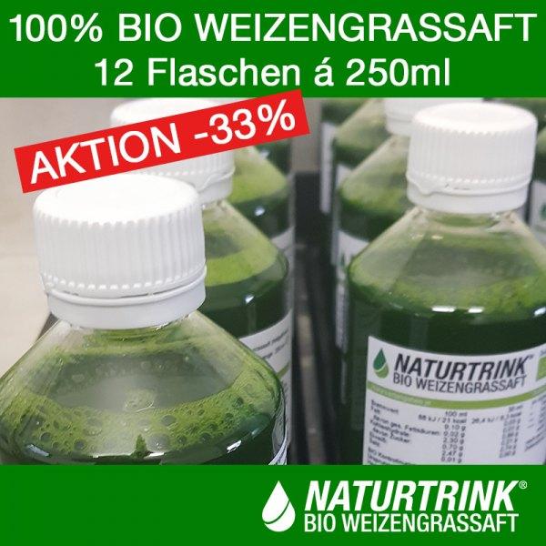 NATURTRINK Bio Weizengrassaft XL