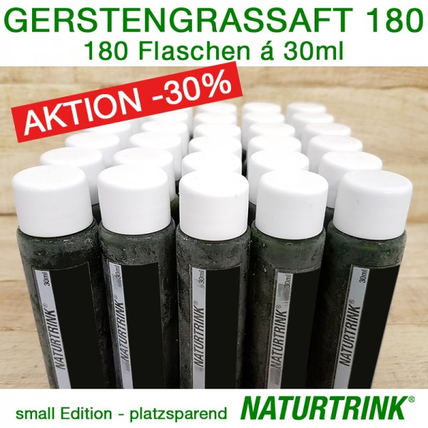 BIO Gerstengrassaft 180 - NATURTRINK