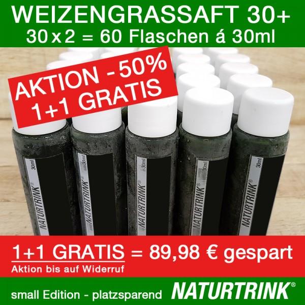 Weizengrassaft 30 (1+1 Gratis) NATURTRINK