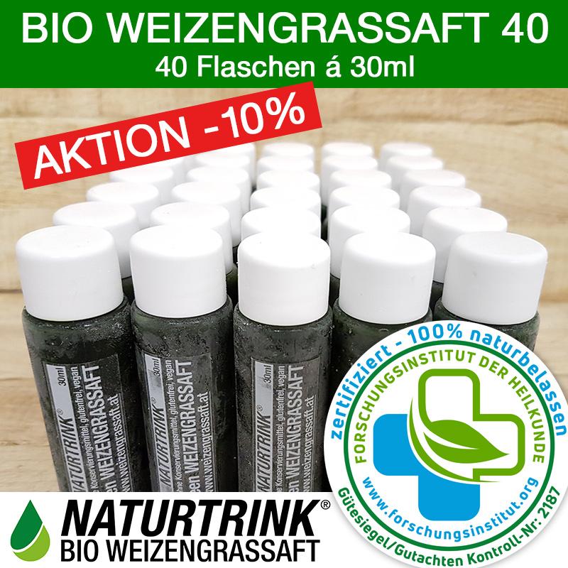 Naturtrink Bio Weizengrassaft