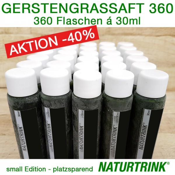 BIO Gerstengrassaft 360 - NATURTRINK